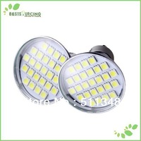 free shipping 5pcs CE & ROHS Approval 5050 SMD 5W no dimmable 27 LED led GU10 Light Bulb Lamp 220-240v