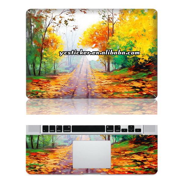 Free Shipping for MacBook PVC Skin PVC Wrist Skin Laptop Protect Skin(China (Mainland))