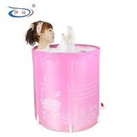 Inflatable tub environmental folding adult tub bath bucket bucket bath bucket bath barrels of 6