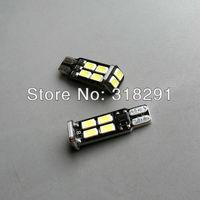 Wholesale NEW TYPE 20pcs/Lot Canbus T10 10smd 5630 LED car  Light + Canbus NO OBC ERROR White12v
