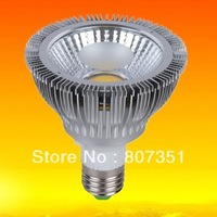 Best Seller!E27 COB LED Par30 14w dimmable Bulb Light Lamp Cool White AC 85-265V 50-60Hz Aluminum 8pcs lot