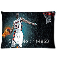 Custom funny sport fires the action Pillowcases