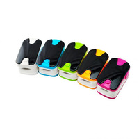 Color OLED Fingertip Pulse Oximeter with Alarm Setting and Beep Sound Colors(grey and yellow)