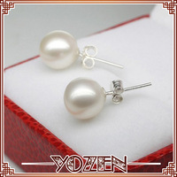 simple freshwater pearl earring 2013 earrings