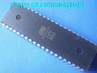AT89S51-24PU/PI  PDIP-40 8-bit Microcontroller with 4K Bytes In-System Programmable Flash