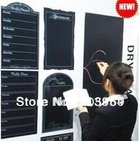 45*200CM Wall Paper Decor wall sticker blackboard sticker Removable with whiteboard pen as bonus 15pcs/lot