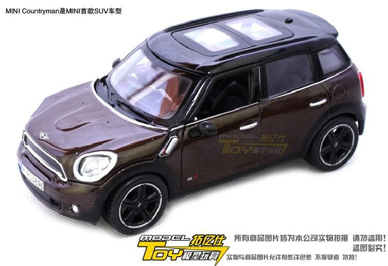 Brand New Maisto 1:24 Scale Mini Countryman Diecast Car Model In Stock(China (Mainland))