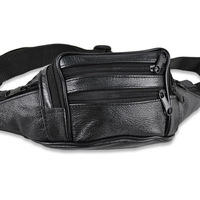 Fashion PU Leather Materail Men Bag Waist Packs Wholesale Price