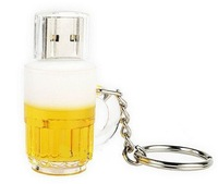 New! Genuine 1GB,2GB,4GB,8GB,16GB,32GB,64GB Capacity Cup Beer USB 2.0 Flash Memory Stick Pen Drive