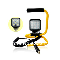 Outdoor Stand Portable Car maintenance lights super bright LED work lights DC emergency search lights