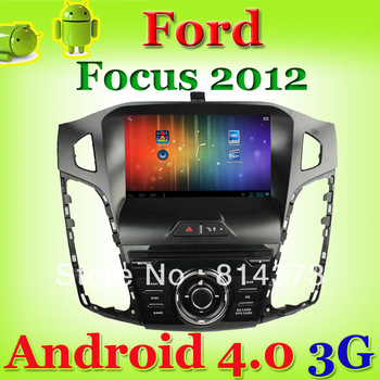 1 din android car pc Ford Focus 2012 with CPU 1G Hz/ RAM 1GB DDR3/Bluetooth/Radio/free wifi dongle and 4GB map card