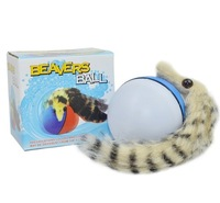 Summer electric beaver ball water mouse electric rat beaver leopard cat