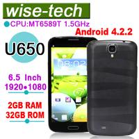 2013 newest U650 MT6589T Quad Core 1GB/2GB RAM 16GB/32GB ROM Android 4.2.2 phone\john