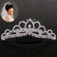 H033 accessories rhinestone insert comb the bride hair accessory hair accessory bride