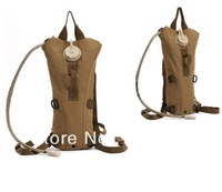 NEW Arrive TAN Outdoor Military Style Leak Proof Quality Hydration Water Pack Bag Backpack