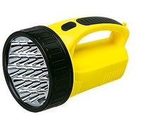 Recharge type searchlight flashlight lighting lamp patrol lights Free Shipping