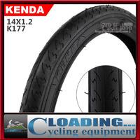 14*1.2inch Kenda K177bicycle tire260g ultra light black road BMX/folding bike tyre tires/50-85PSI rubber bike parts freeshipping