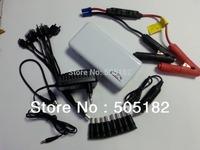 Multi-function 13800mAh 12V portable car emergency power supplier battery car jump starter for car and mobile phone power bank