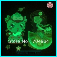 Fluorescent luminous full body screen protector sticker for iphone4,4S