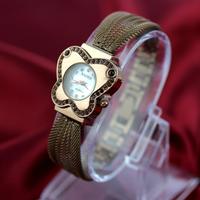 2014 New Hot Sale New Fashion Designer Ladies Sports Brand  Flower Watch Vintage Handmade Diamond Woman Dress Watches