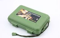 Key box Gift 3pcs/lot 2size 3colors Tactical pen box waterproof sealed shcokproof Pressure-proof boxes storage box