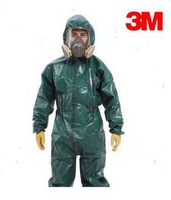 Free Shipping 3m 4680 Chemical protective one piece suits against the chemical liquid ,dust-proof and anti-static clothing