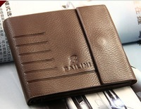 Genuine Leather Wallet short wallet card holders MSW056