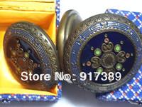 Mechanical watch European pocket watch Vintage pocket watch Mechanical, Double open the cover