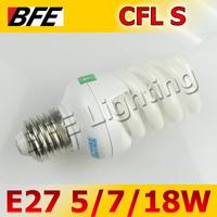 Super Deal Cearance 5/7W Spiral E27 Fluorescent Light Bulb Energy Saving Warm/Day White CFL