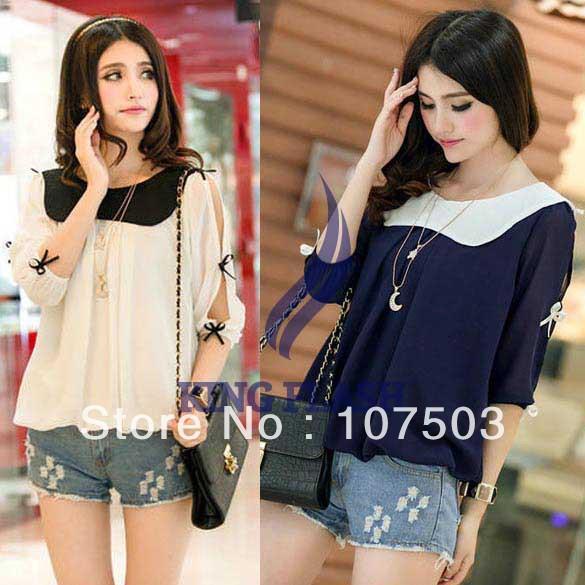 Женские блузки и Рубашки Brand new 15898 15898# женские топы и футболки brand new 40356