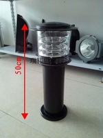 Fashion lawn lamp garden lights garden lights outdoor street lamp black strawhat light waterproof lamp black
