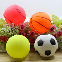 pet dog toy and cats sound bite resistant plastic play ball Soccer Softball Tennis Basketball