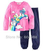 Baby Toddler Clothes Infant Pajamas Kid's Boys Girls Sleepwear Pajamas Size:2-7Y