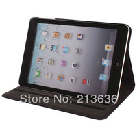 High Quality Luxury Genuine Leather Protective Cover Case For iPad mini  with Stand Free Shipping!