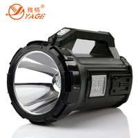 Glare hallett charge led flashlight searchlight outdoor portable lamp