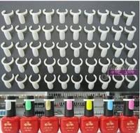 New Arrival 100pcs/lot nail finger Template nail tip for nail polish bottle,uv gel bottler best for exhibition of colors