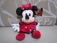 30cm plush minnie mouse plush minnie kids toy kids present  2 pieces free shipping