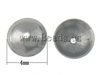 Free shipping!!!Stainless Steel Jewelry Beads,Trendy, 304 Stainless Steel, Dome, oril color, 4x4mm, Hole:Approx 0.7mm