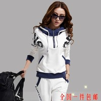 2013 new winter fashion sweater female models Korean yards casual sportswear suit Free shipping  Y001