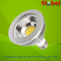 New 2pcs HOT Sale  COB 10W PAR30 LED Spotlight E27 Bulb AC85-265v CE ROHS Free shipping