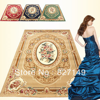 Fashion chinese style american classical blending wool carpet sofa coffee table carpet mats FREE SHIPPING
