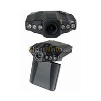 Car Video Recorder H198 6 IR LED Nightvision 2.5'' LCD 270 degree Rotating Screen Car DVR
