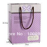 free shipping& Exquisite gift bag    purple   elegant   medium bag gift bag    #207