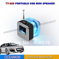 TT-029 Mini Speaker With FM Radio Singapore Post Free Shipping