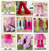 2015 Fashion Baby Toddler Leg Warmer Cover  Socks children's leg warmers  baby's girls  ruffle lace leg warmers , 10piece/lot