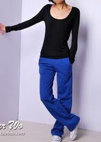 8 2012 four seasons spring all-match Women casual pants sports pants trousers