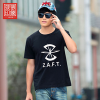 T-shirt seed zaft pineapple men's clothing short-sleeve T-shirt clothes