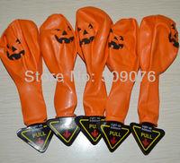 Free shipping 20pcs/lot  LED balloon light orange led balloon for halloween decoration