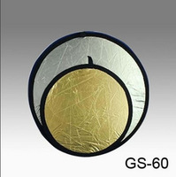 Diameter 60cm 60 two-in-one gold and silver gold and silver reflector portable bag fabric belt