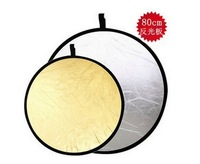 Two-in-one 80cm reflectors portraitist portable bag